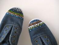 imagen Originales zapatillas y zapatos pintados