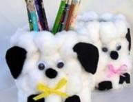 imagen Portalápices perrito para pequeños