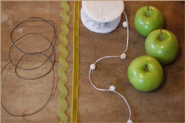 guirnalda de manzanas 2