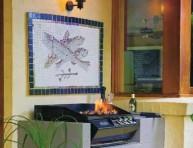 imagen Mosaico con peces para la pared