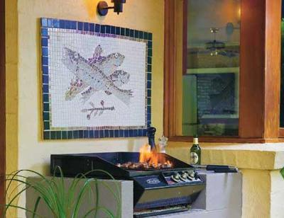 Mosaico con peces 6