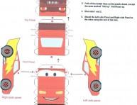 imagen Cajitas de Cars para imprimir y armar