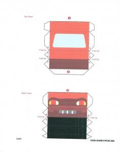 sorpresas de cars para imprimir y armar 3