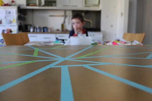 cuadro geométrico para el hogar 2