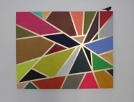 imagen Cuadro geométrico para decorar la sala