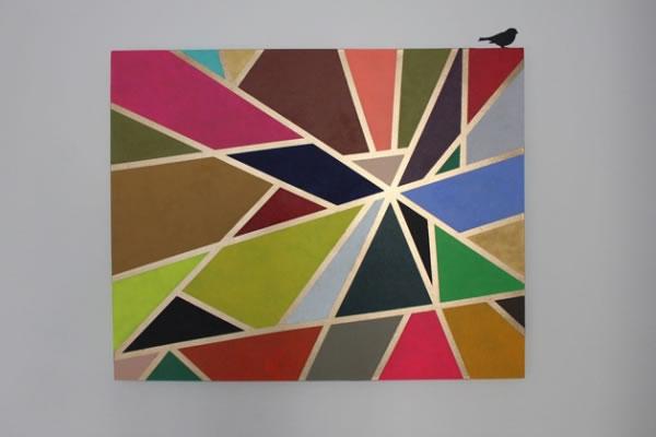 cuadro geométrico para el hogar 3