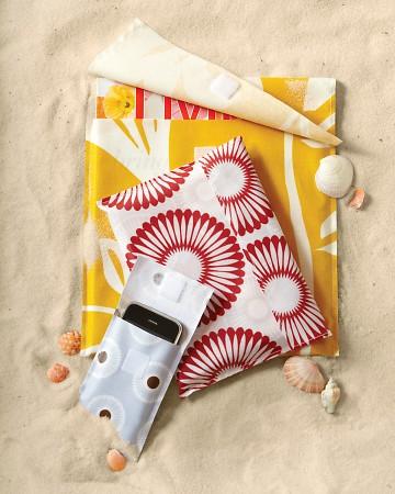 Cubiertas de tela para la playa