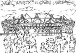 dibujos para pintar de Londres 2012 2