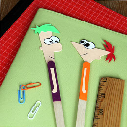Separadores de Phineas y Ferb