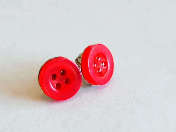 Aretes con botones