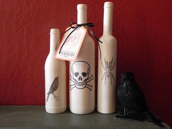 Botellas para Halloween