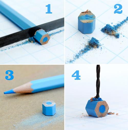 Bijouterie con lápices de colores 1