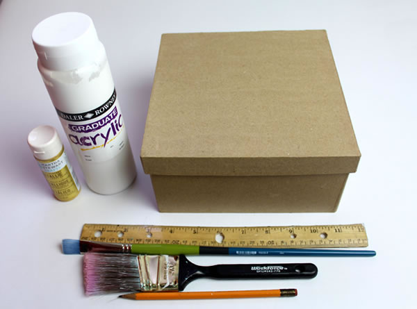 Cmo decorar una caja de cartn Gua de MANUALIDADES