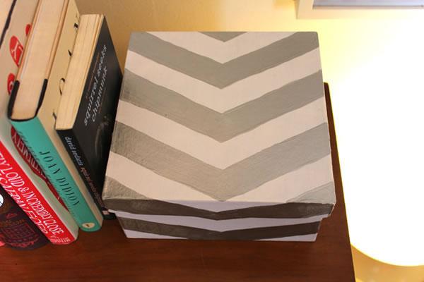Caja de cartón decorada 1