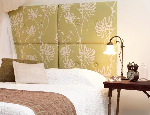 haz un cabecero para tu cama - Como Hacer Un Cabecero De Tela