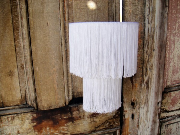 Lámpara cpon flecos 1