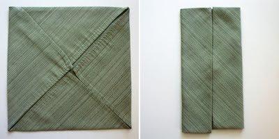 Dobla servilletas como camisetas 1