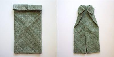 Dobla servilletas como camisetas 2
