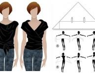 imagen Dos camisetas en una sin costuras