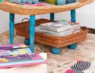 imagen Mesa de living con bandejas