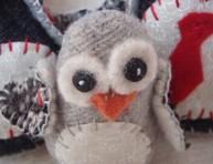 imagen Mini pingüinito de fieltro