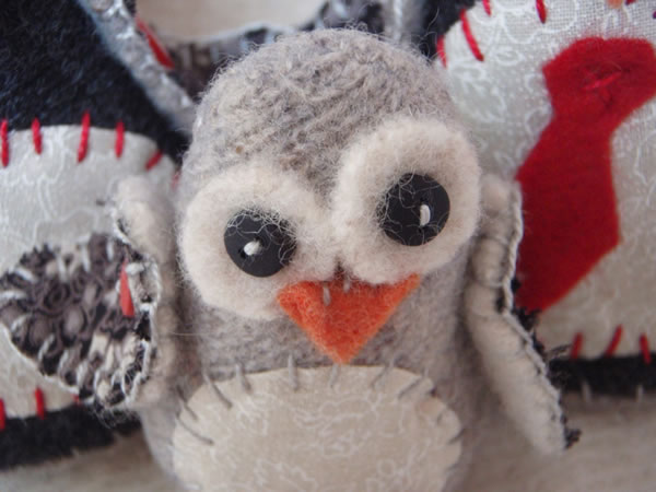 Pingüinos de fieltro 2