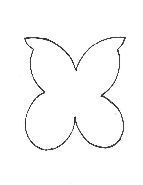 Móvil con mariposas de fieltro - Guía de MANUALIDADES
