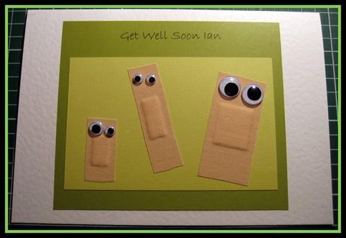 tarjeta para regalar a alguien enfermo