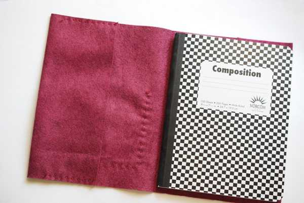 Forro de fieltro para cuadernos 6