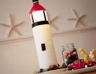 imagen Un auténtico faro en una botella… ¡con luz!