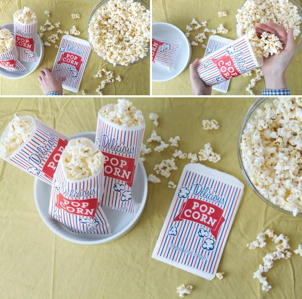 Bolsas de popcorn personalizada