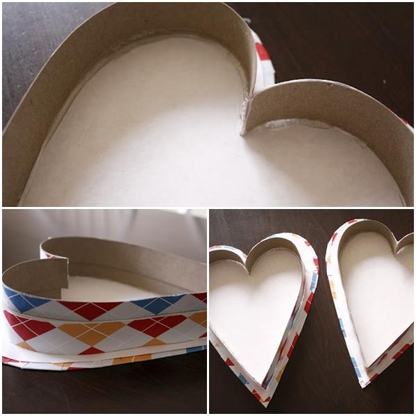 Caja con forma de corazón 4