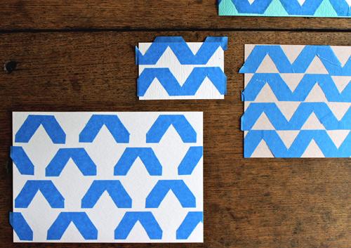Aprende a hacer estampados sobre papel 3