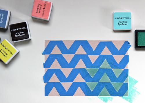 Aprende a hacer estampados sobre papel 4