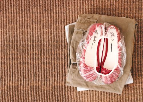 Cómo empacar tu calzado