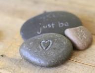 imagen Idea para grabar piedras de río