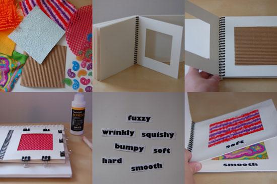 Libro de texturas para niños 2