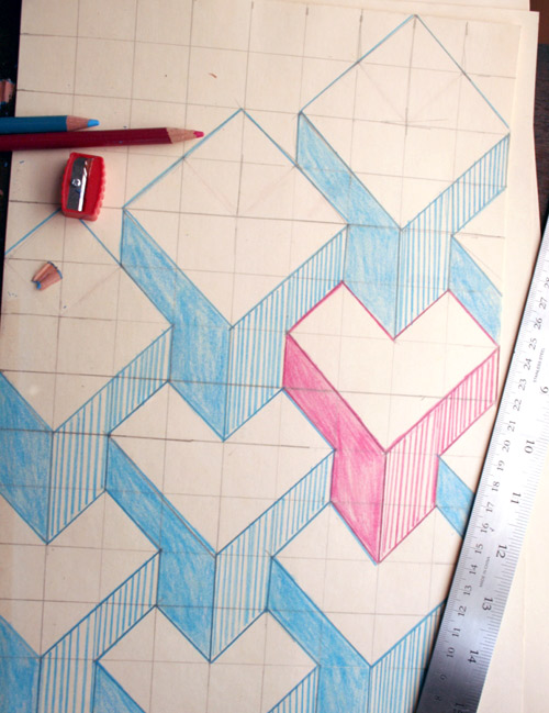 Pinta tus paredes en 3d gu a de manualidades for Dibujos faciles para paredes