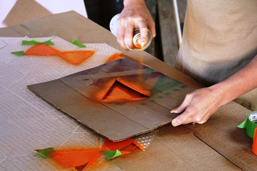 Pinta una mesa de cristal 3