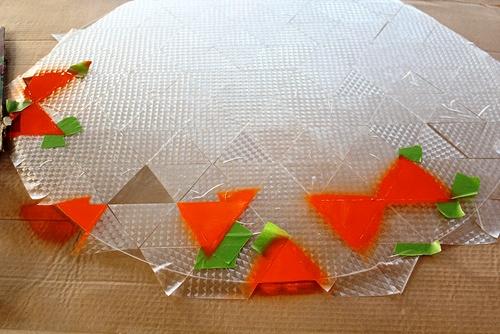 Pinta una mesa de cristal 4