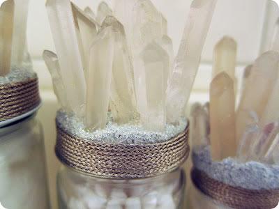 Envases decorados con cuarzos 2