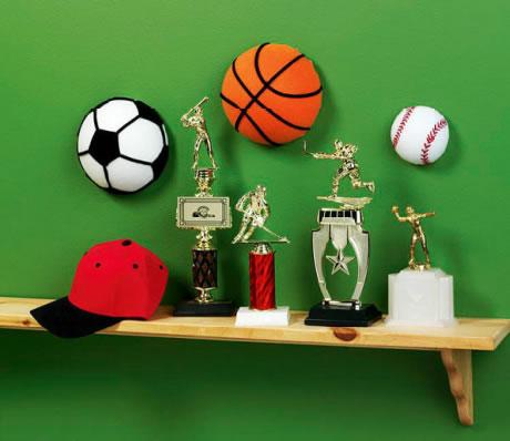 Decoración con estilo deportivo