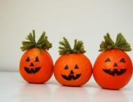 imagen Calabazas de halloween con naranjas