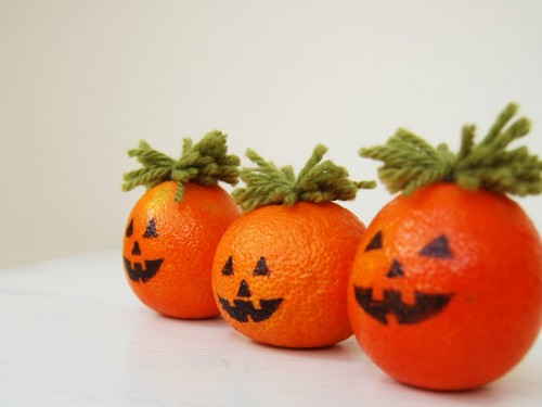 Naranjas como calabazas 2
