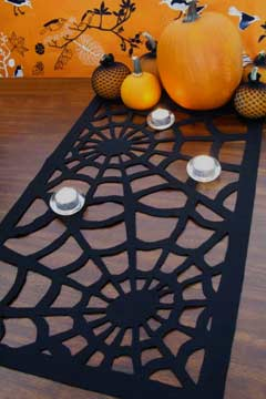 Camino de mesa de halloween