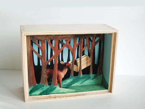 Cómo hacer un diorama 9