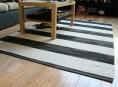 imagen Cómo pintar una alfombra a rayas