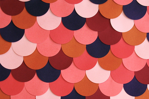 Haz un cuadro con círculos de color 1