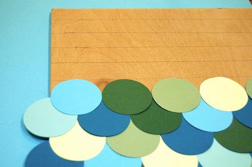 Haz un cuadro con círculos de color 4