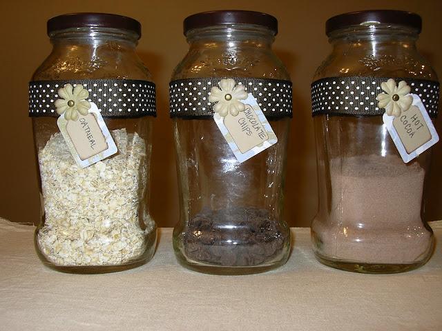 De envases a bonitos tarros de cocina gu a de manualidades for Envases de vidrio decorados